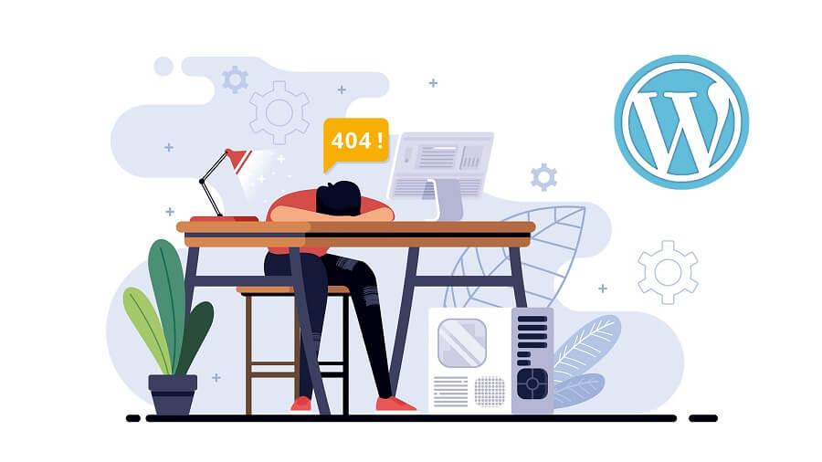 رفع خطای 404 وردپرس